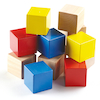 Baby First Wooden Bricks 12pk  small