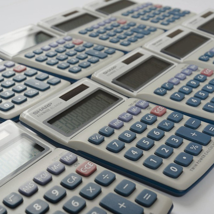 EL-240SAB Compact Calculator 10pk  large