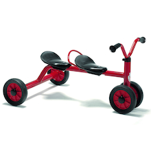 Winther Two Seater Trundle Bike  medium