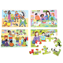 Exploring Emotions Jigsaws 4pk  medium