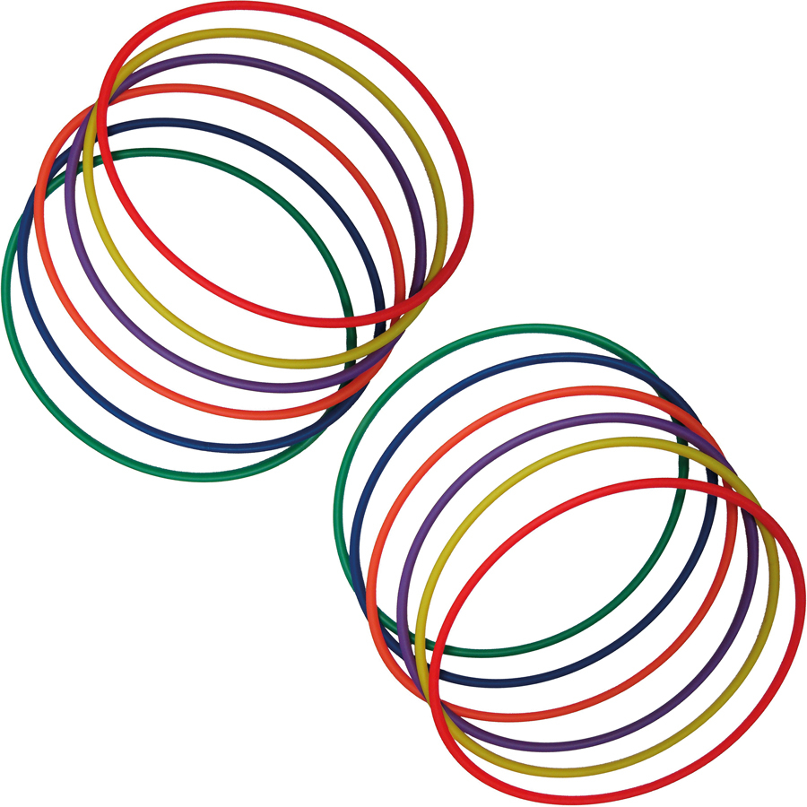 Buy Coloured Hula Hoops 12pk Tts