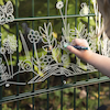 Clear Acrylic Outdoor Nature Easel  small