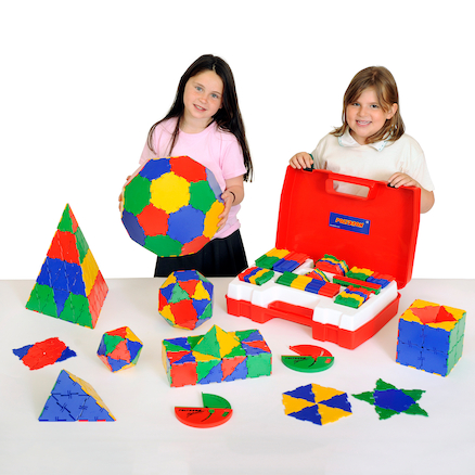 Polydron Plastic School Geometry Set 266pk  large