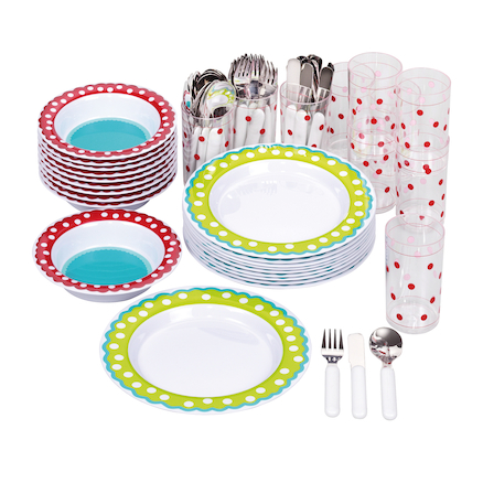 Dotty Melamine Tableware Collection  large
