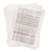 ECO Punched Pockets 100pk  medium