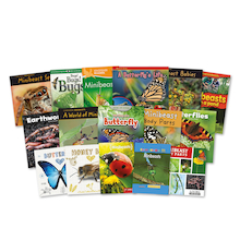 KS1 Discover Minibeasts and Insects Books 15pk  medium