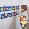 Maths and Literacy Fabric Bunting   small