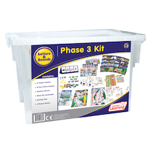 Budget Letters & Sounds Phonics Phase 3 Kit   medium