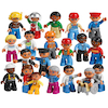 DUPLO LEGO Plastic Community People Set 21pcs  small