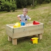 Free Standing Wooden Sandpit  small