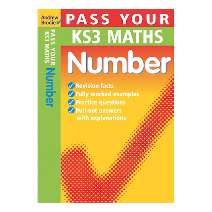 Pass Your KS3 Maths Number Revision Book  large