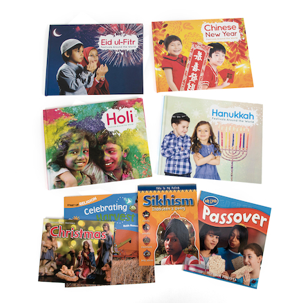 Holidays Festivals and Celebration Books 8pk  large