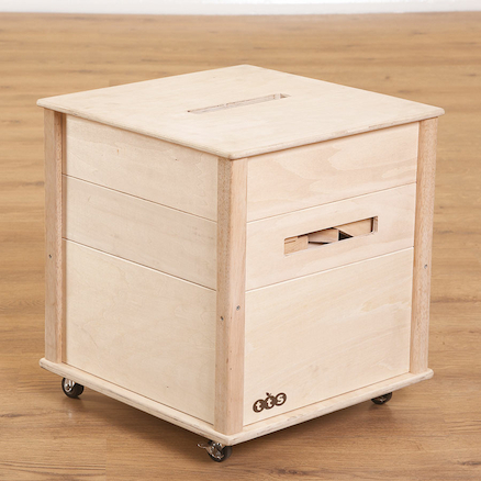 Wooden Creative Crate with Blocks  large