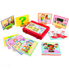 Conflict Resolution Lies Story Cards and CD  medium