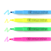 Penflex Assorted Slim Highlighter Pens 4pk  small