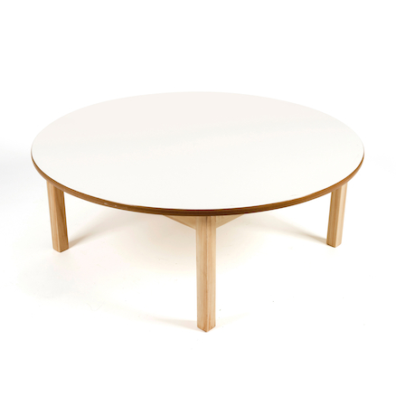 Toddler Low Circular Table H380mm  large