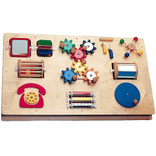 Wall Mountable Manipulative Activity Board  medium