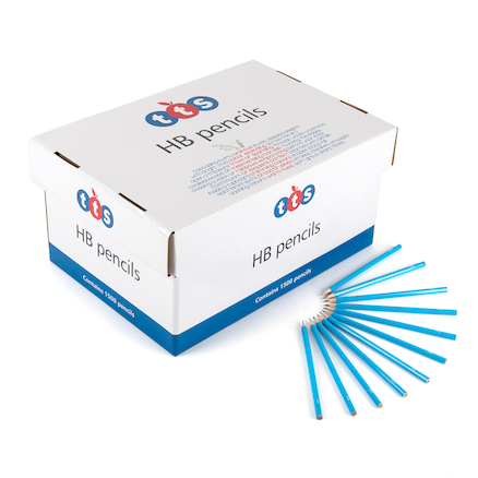 TTS HB Pencils 3000pk \x26 10 FREE Sharpeners  large