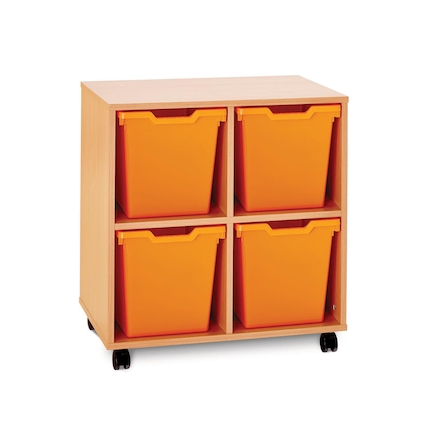 Pop Storage 4 Jumbo Trays  large