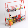 Storage Trolley with Mesh Baskets  small