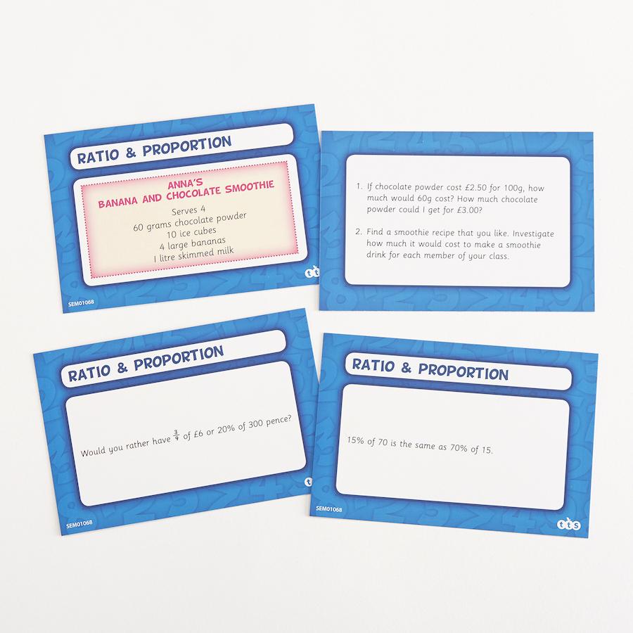 Buy ks3 problem solving activity cards 80pk tts ks3 problem solving activity cards 80pk small ccuart Choice Image