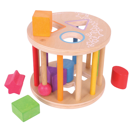 Wooden Shape Sorter  large