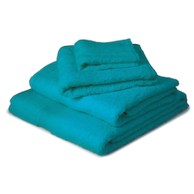 Premier 100% Cotton Facecloths Turquoise 12pk  medium