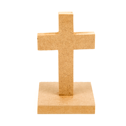 Plain Wooden Crosses 10pk  large