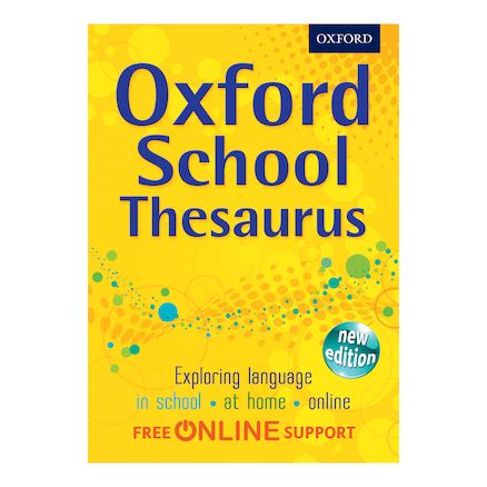 Oxford School Thesaurus  large
