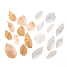 Metallic Leaves Assorted 20pk  medium