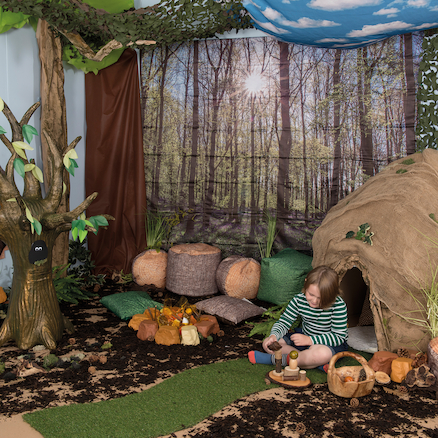 Immersive Environments Backdrops Woodland  large