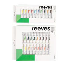 Reeves Acrylic Paint Tubes Assorted 10ml  medium