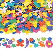 Assortment Foam Pieces 1000pk  medium