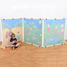 Portable Room Dividers  medium