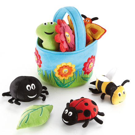 Soft Role Play Minibeast Basket  large
