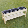 Outdoor Messy Table with Rubber Trays  small