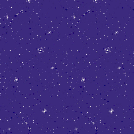 Fadeless Display Paper Night Sky 15m  large