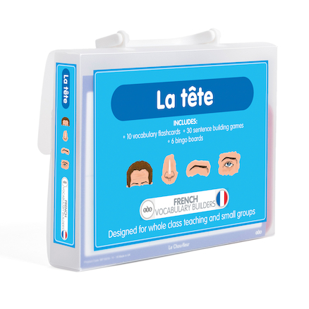 French Vocabulary Builders \- Face\/Head  large