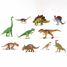 Small World Dinosaur Set 10pcs  medium