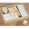 Wooden Mirrored Blocks and Storage Tray  small