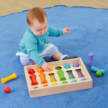 Baby Wooden Colour Sorting Collection  medium