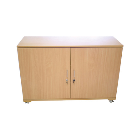 Lockable Mobile Cupboard  large