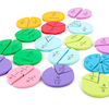 Foam Fraction Action Resource 123pcs  small