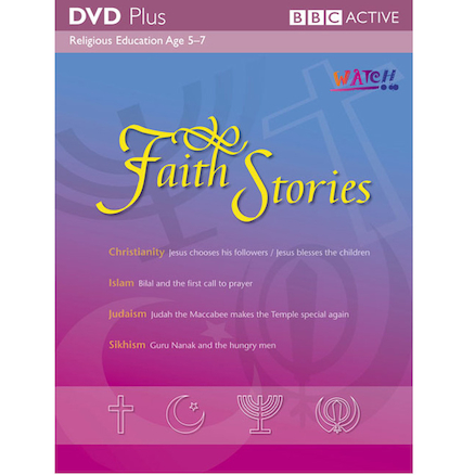 Faith Stories DVD and Activity Pack  large