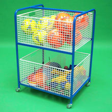 General Wire Basket Equipment Trolley  medium