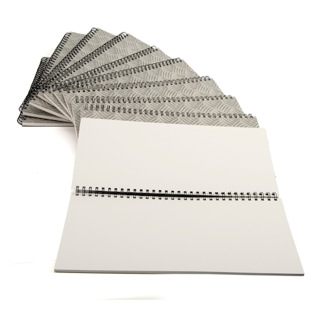 140gsm Spiral Sketchbook 2\/3 A3 10pk  large