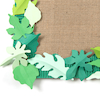 Small Spring\/Summer Paper Leaves Assorted 250pk  small
