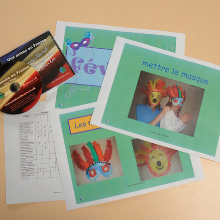 French Celebrations Resources CD  large