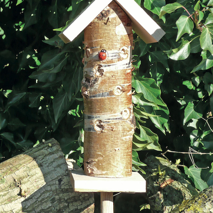 Ladybird Insect Habitat Tower  large