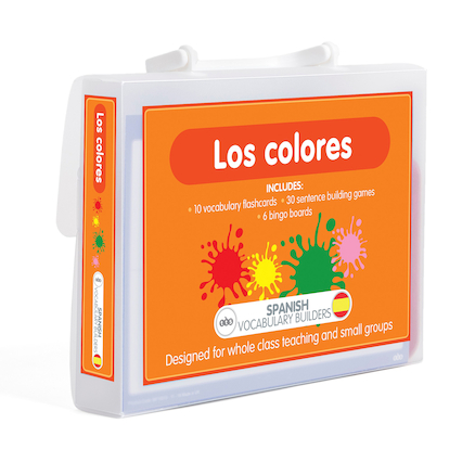 Spanish Vocabulary Builders  large